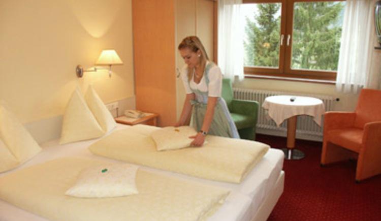 Hotel Gosauerhof Doppelzimmer (© Gudrun Laserer)
