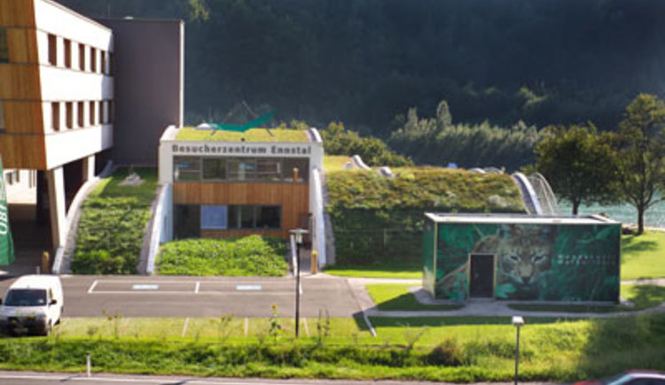 Nationalpark Besucherzentrum Ennstal. (© Nationalpark Kalkalpen)