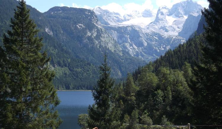 Gosausee + Dachstein-Gletscher (© Knappe / Benesteem)
