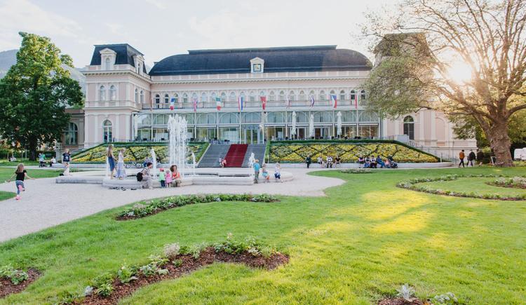 Kongress & TheaterHaus im Kurpark, Ort für zahlreiche Veranstaltungen und Seminare. (© www.badischl.at, Leitner Daniel)