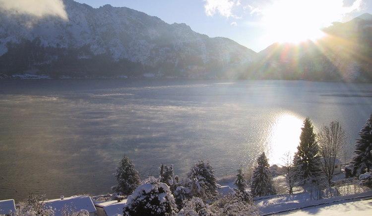 Winterliche Aussichten vom Haus Christina. (© Barbara Schmidt)