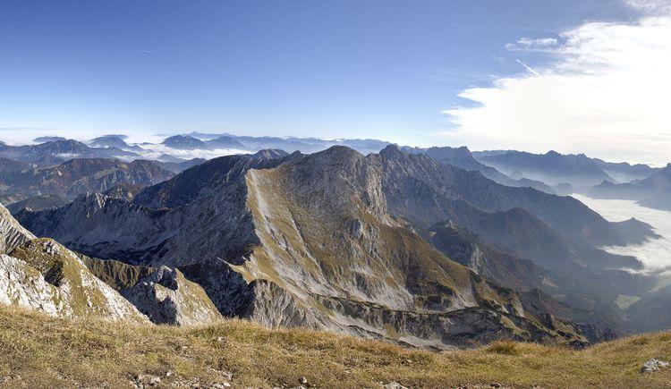 Panorama mit kl Pyhrgas, Scheiblingstein, Hallerma (© TVB Pyhrn-Priel/Sulzbacher)