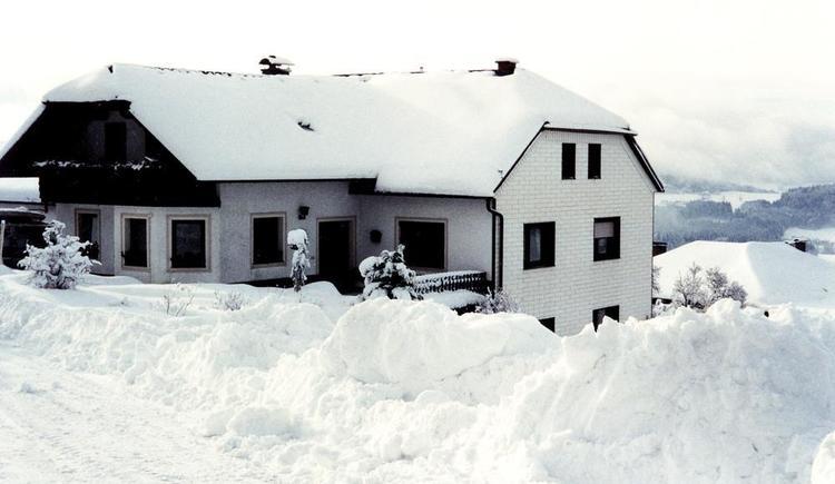 Pension Fuchs im Winter (© Privat)