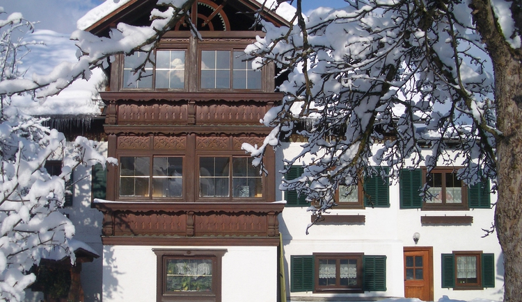 The organic farm Straubinger is also in winter an ideal accommodation.