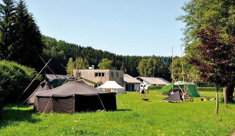 Scout Camp Austria, Pfadfinderlager Eggenberg, 4880 Berg im Attergau. (© Scout Camp Austria)