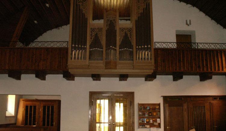 Kirche Reindlmühl Orgel