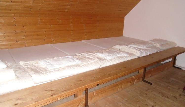 Bettenlager für 12 Personen (© TVB Almtal, AH)