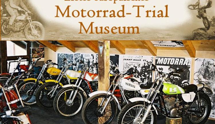 1. Europäische Motorrad Trial Museum