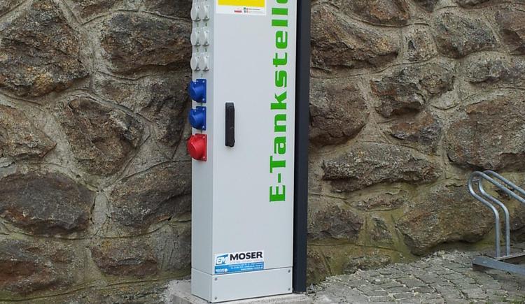 E-Ladestation (© TV Pfarrkirchen)