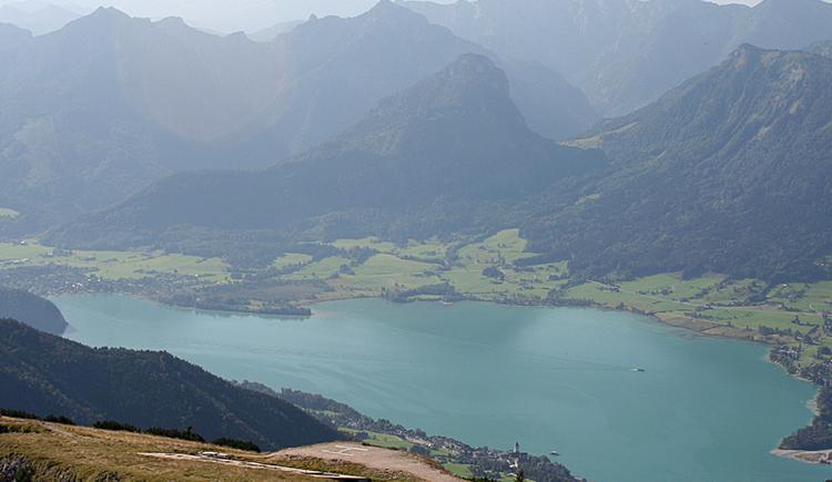 Schafberg - Blick auf den Wolfgangsee. (© WTG)