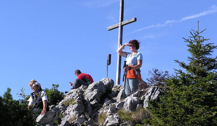 Gipfelkreuz vom Steineck in St. Konrad. (© Foto by Rudolf Weinzierler)