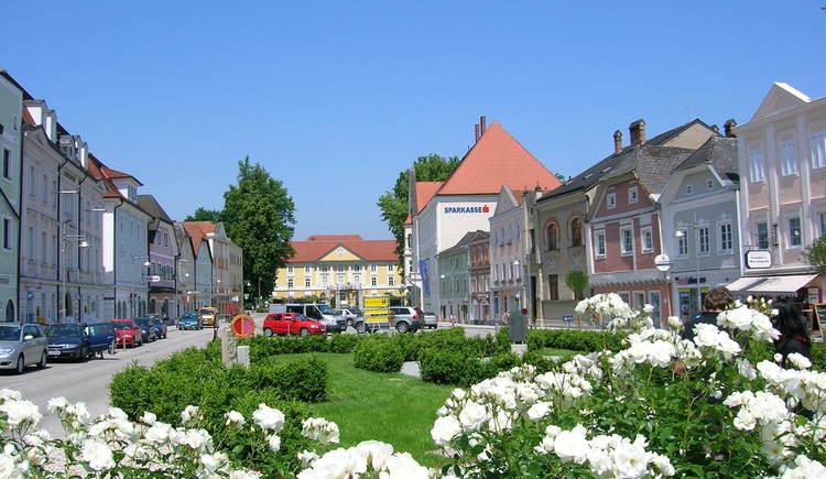 Stadtplatz Eferding. (© Tourismusverband Eferding)
