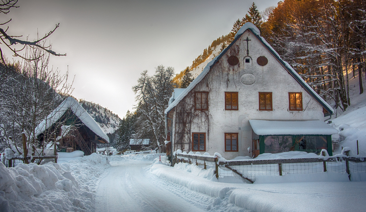 Altes Haus in Steyrling (© TVB Pyhrn-Priel/Kerbl)