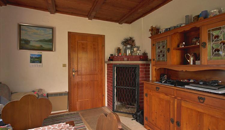 Die rustikale Bauernstube im Ferienhaus Knusperhaus in Strobl am Wolfgangsee