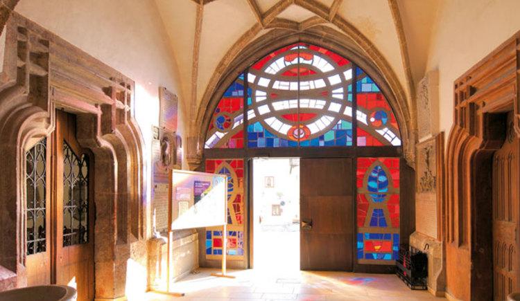 Pfarrkirche Altmünster Eingang