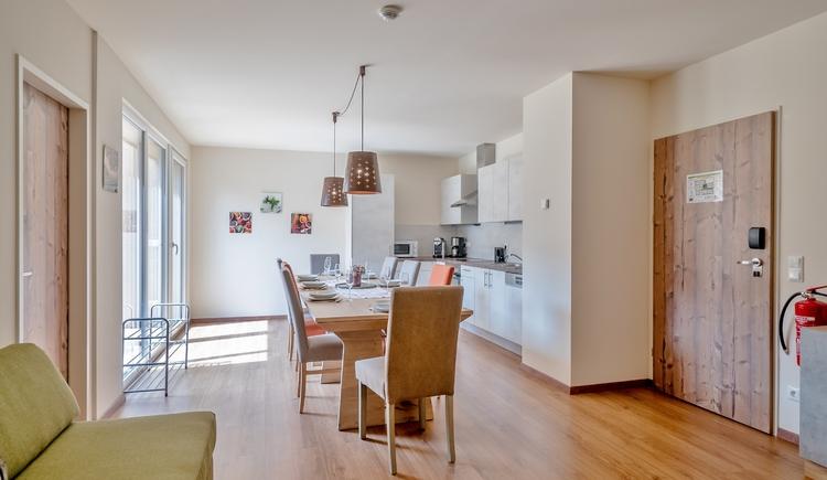 Wohnbereich mit Küche