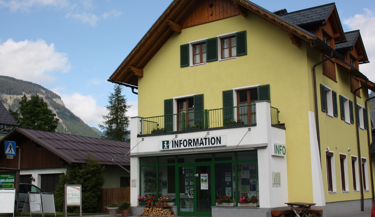 Tourismusbüro Gosau. (© Ferienregion Dachstein Salzkammergut)