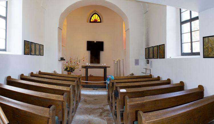 Dietlkapelle von innen (© TVB Pyhrn-Priel/Sulzbacher)