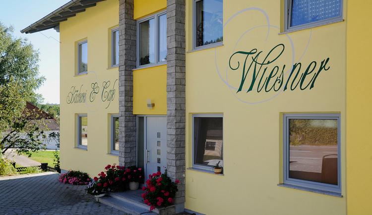 Cafe Wiesner Kirchheim Außenansicht