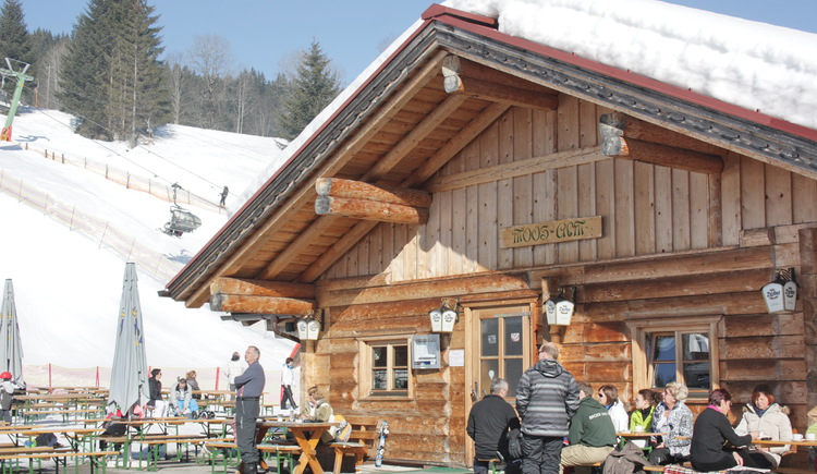 The Après Ski Bar Moosalm.