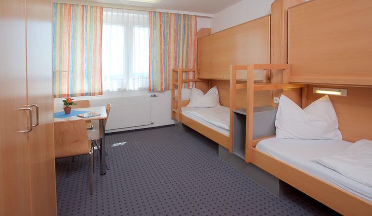 Zweibettzimmer, Doppelzimmer Jugendgästehaus Linz