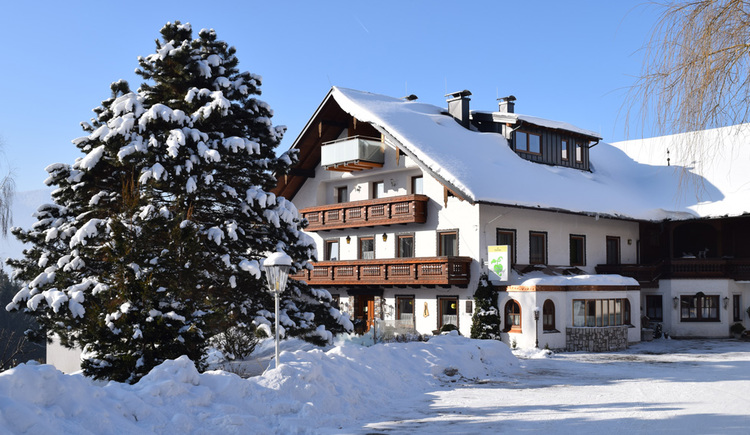 Pension Irlingerhof im WInter