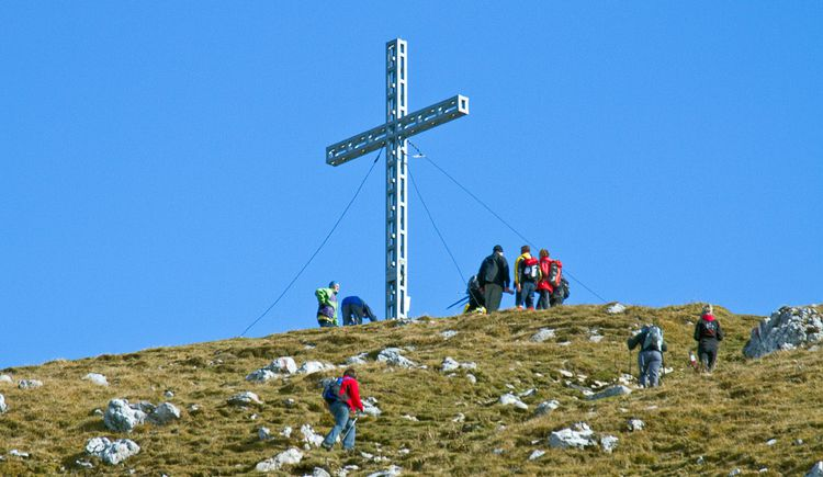 Gipfel des Großen Pyhrgas (© TVB Pyhrn-Priel/Sulzbacher)