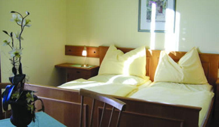 A traditional double room at Brandwirt