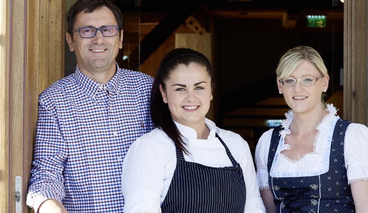 Familie Kaltseis Restaurant Hoamat, Haibach. (© WGD Donau Oberösterreich Tourismus GmbH-Peter Podpera)