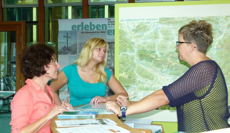 Besucher, Information, Nationalpark, Kalkalpen, Ausstellung, Verwaltung, Wasserlabor, Service, Wander Zentrum, Mountainbike Zentrum, Café