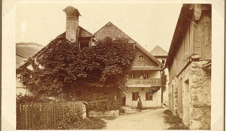Das ehemalige Gasthaus Wartburg in der Kirchengasse ist die sechste Station unseres Themenweges