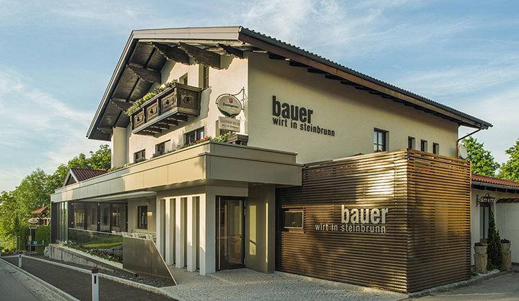 Gasthaus Bauer - Wirt in Steinbrunn in Schardenberg. (© Gasthaus Bauer GmbH & Co KG)