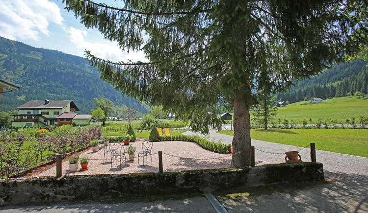 Garten, Gosaukammblick