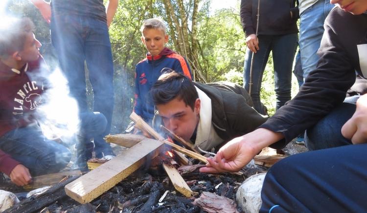 klassenGeist - Tag in der Wildnis (© pyhrnPriel-erlebnisagentur GmbH)