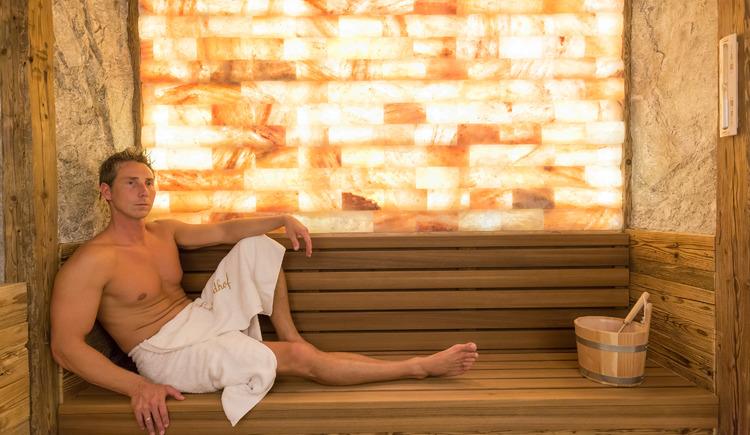 Solestollen in der Wellness-Alm