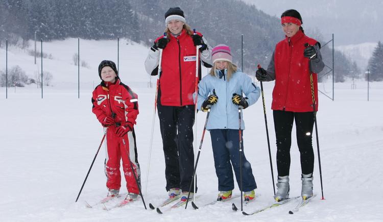 Langlauf in Wdg., Damen & Kinder, Dez. 2005 (© Pyhrn-Priel Tourismus GmbH/Mitterhauser)