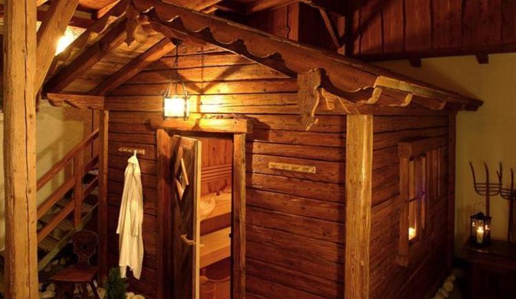 Kräuterhotel Bärnsteinhof in Aigen-Schlägl, Sauna.