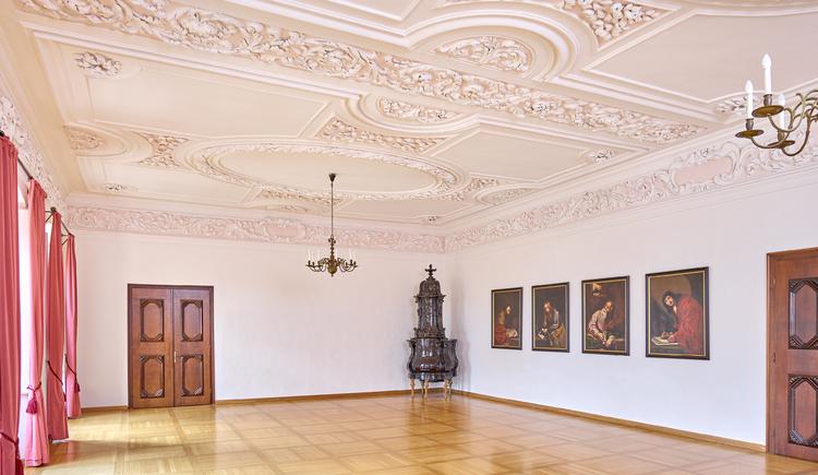 Carlone Saal im Stift Reichersberg. (© www.pedagrafie.de)