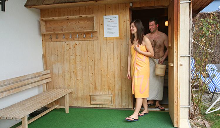 Finnische Sauna, Machland Badewelt, Perg. (© Stadtmarketing PERG - Alexander Schneider)