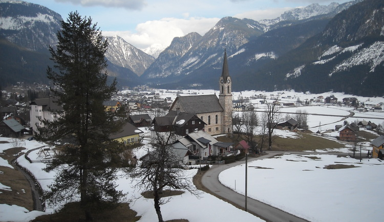 A view form the House Brabenetz during winter