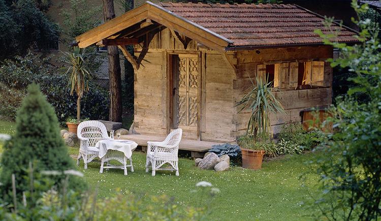Hotel Seewirt, Garten.