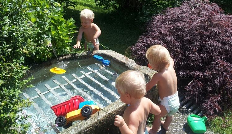 Wasserplanschen macht Spaß