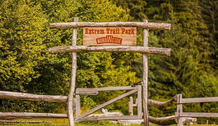 Extreme Trail Park Eingangstor (© Fotografie Kastner)
