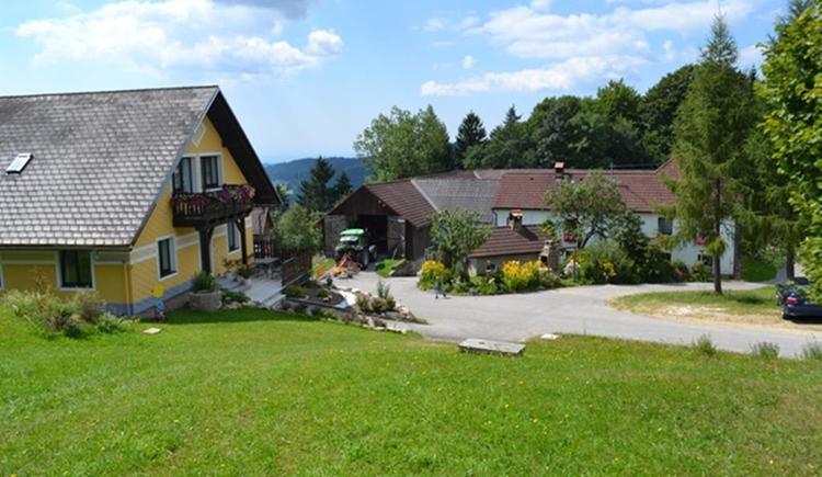 Außenansicht Bauernhof u Gästehaus