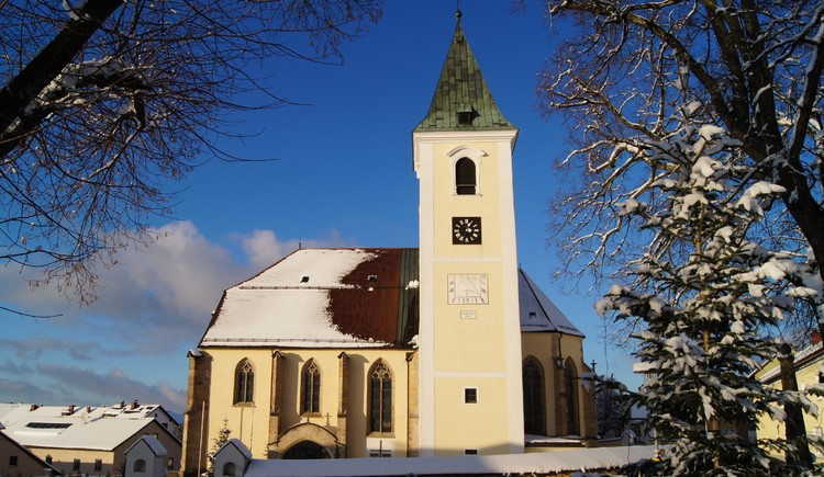 Pfarrkirche St. Leonhard (© Marktgemeinde St. Leonhard)
