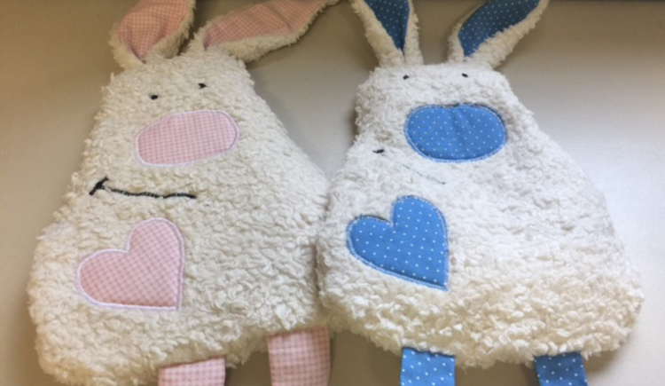 heating pad Looks like a rabbit