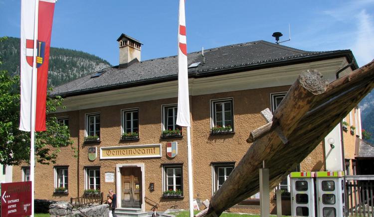 Das Gemeindeamt befindet sich direkt im historischen Ortszentrum von Hallstatt. (© Gemeindeamt Hallstatt)