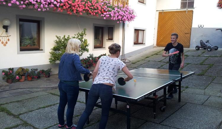 Tischtennisrunde