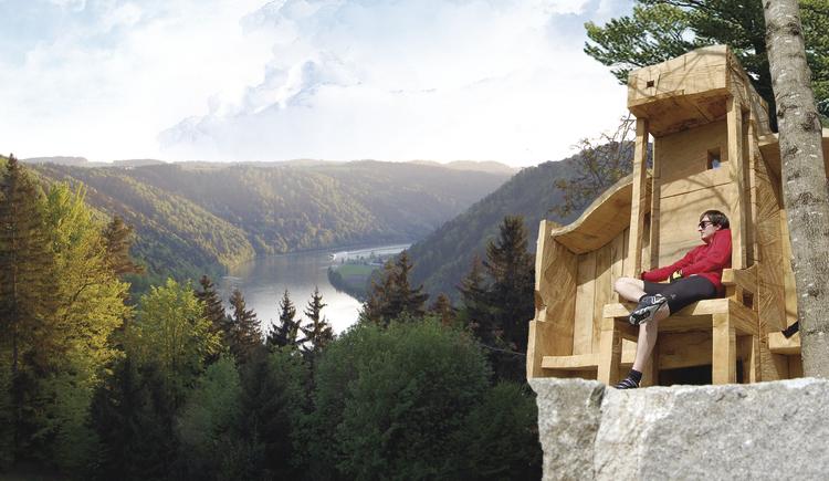 Präsidentenstuhl donaublick 1a.jpg (© Josef Eibl)