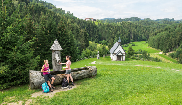 Johanneswegkapelle und Johannesbrunnen